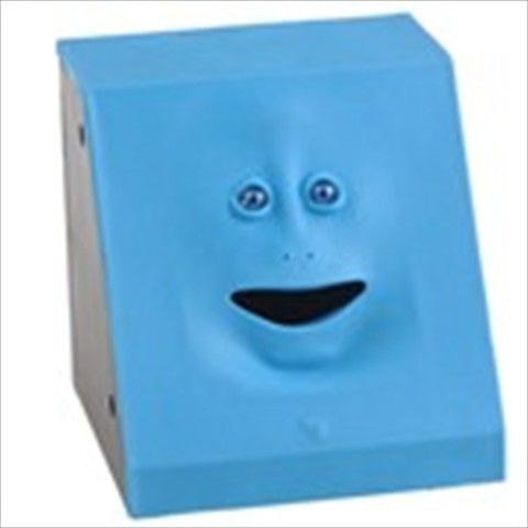 Cute Blue Face Pattern Active Plastic Coin Bank Money Saving Jar Box      $16.70