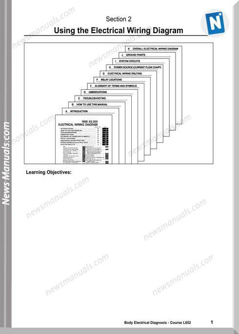 Toyota Using The Lexus Electrical Wiring Diagram Electrical Wiring Diagram Electrical Wiring Diagram