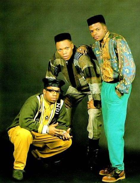 Bell Biv DeVoe, R+B group. It consists of 3 of New Edition's members, Ricky Bell, Michael Bivins, and Ronnie DeVoe.