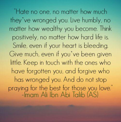 Imam Ali Ibn Abi Talib Quotes Pinterest Keep in