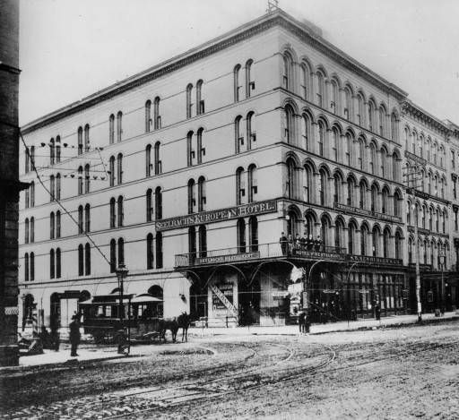 Seelbach S European Hotel Corner Of 6th And Main Streets Louisville Ky 1905 Later Old Inn R G Potter Collection Pinterest Street