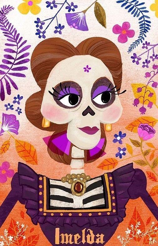 Cómics De Coco Dibujo Dia De Muertos Arte Disney Dia De Muertos Mexico