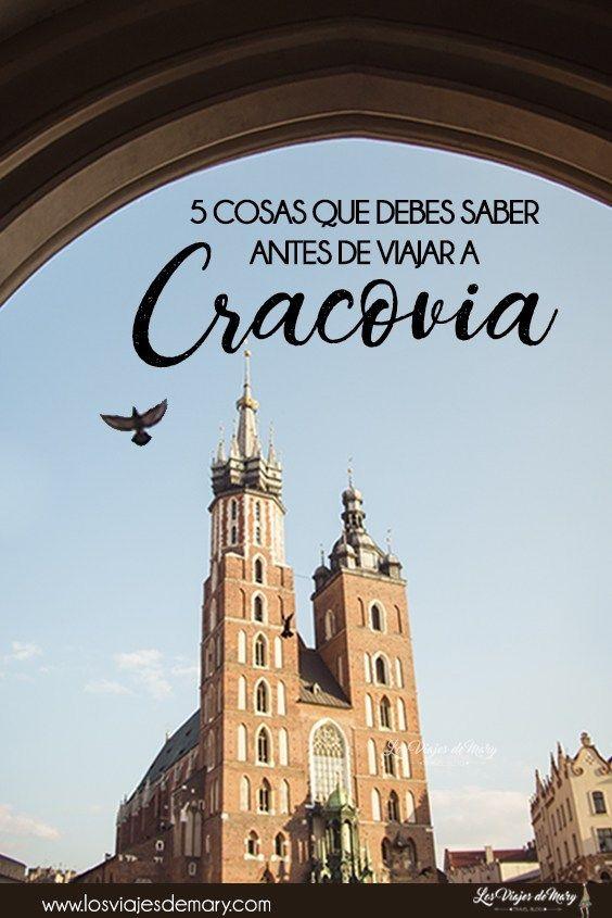 5 Cosas Que Debes Saber Antes De Viajar A Cracovia Los Viajes De Mary Blog De Viajes Viajes Viajar A Polonia Cracovia