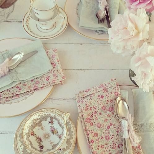 Rachel ashwell shabby chic couture gloria 39 s tea party for Shabby chic instagram