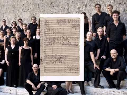 "Johann Sebastian Bach ""Motete BWV 225_Singet dem Herrn ein neues Lied"""