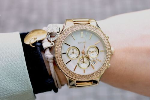 Chanel Gold Watch... NEED