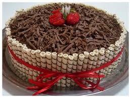 Resultado de imagem para bolos de chocolate com confete