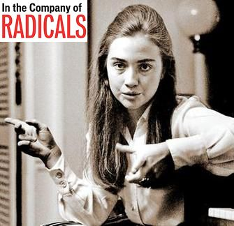 Hillary met face to face with Alinsky several times while she was working on a thesis on community organizing for Wellesley College. Description from buzzpo.com. I searched for this on bing.com/images
