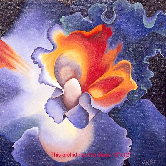 This Orchid Has The Blues- Jane Carlton