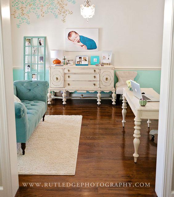 Shabby Chic Robin Egg Blue #love #that #sofa