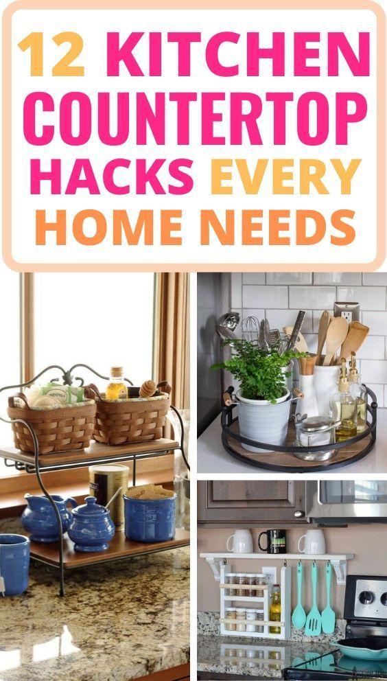 12 Best Kitchen Countertop Ideas To Be Well Organized Kitchen