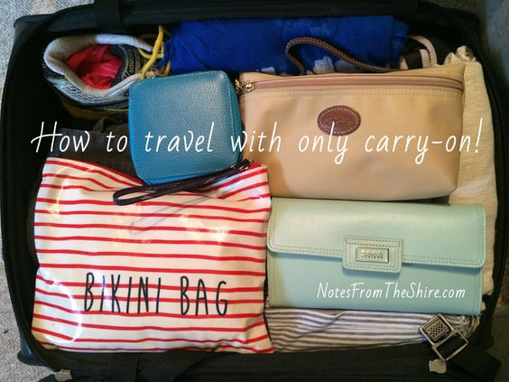 How to Pack Hand Luggage Perfectly - Part One - Notes from the ShireNotes from the Shire