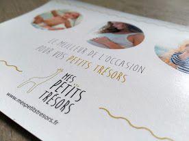 Création de flyers // Mes petits trésors.