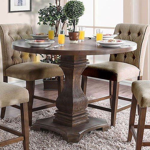 Nerissa Counter Height Table Antique Oak Counter Height Dining