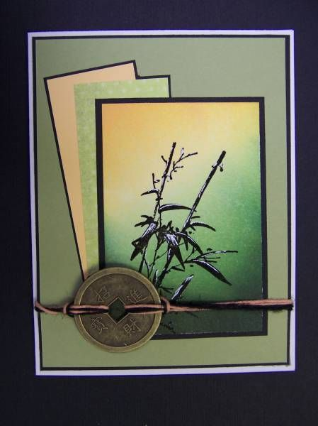 *SC322 Bamboo & Coin by hobbydujour - Cards and Paper Crafts at Splitcoaststampers