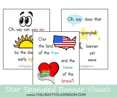 Free Star Spangled Banner Printables