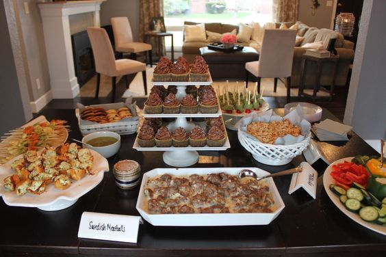 Posts blog and comment on pinterest for Finger food ideas for housewarming party