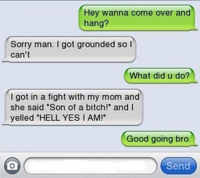 Top 20 Really Funny Text Messages