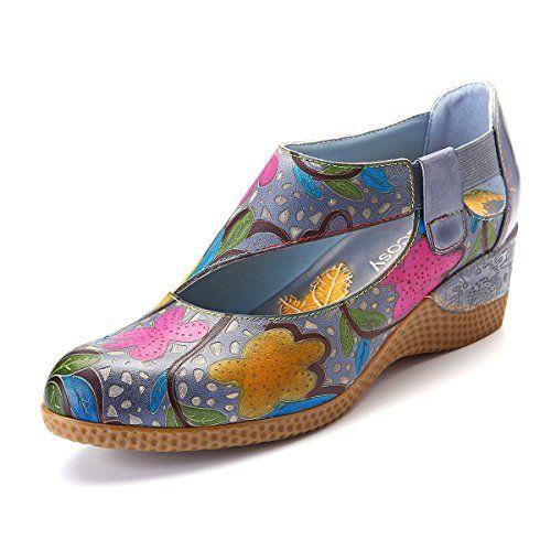 Gracosy Mocassins Femme Chaussures Bateau Plate en PU /à Lacets Original Traditionnel Chaussures de Ville Sneakers Espadrille Confortable D/écontract/ée Printemps Noir Marron