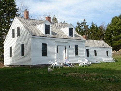 Cape Cod Double Dormers Punctuate The Steep Rooflines Of