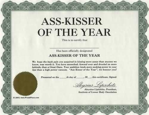 Politics Of The Workplace Critical Shots Funny Awards Certificates Funny Certificates Funny Awards