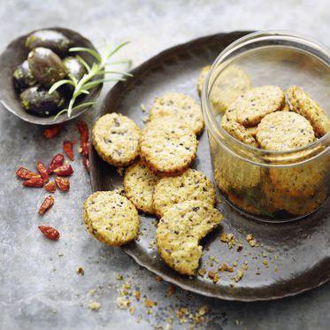 Chili-Oliven-Cracker Rezept   Küchengötter