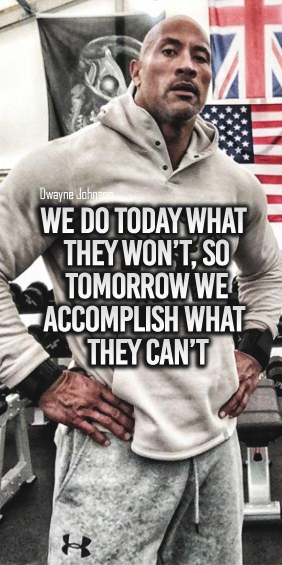 Top Famous Motivational Words Dwayne Johnson Quotes