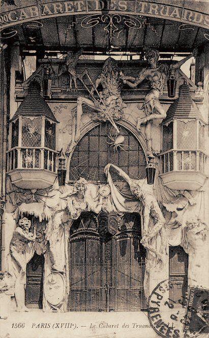 Le Cabaret des Truands, vers 1910.