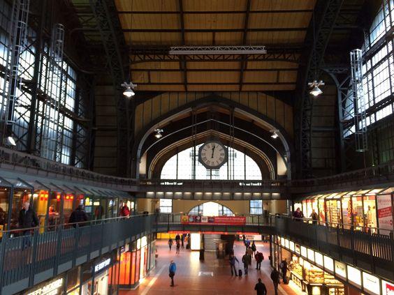 Hamburg. Deutschland. Hauptbahnhof. Germany.