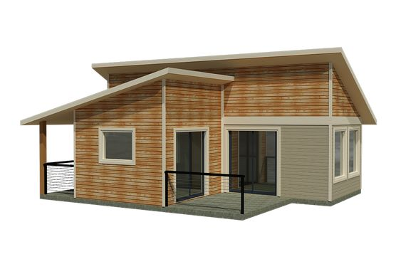 Tiny homes prefab home kits and square feet on pinterest for Prefab portico kits