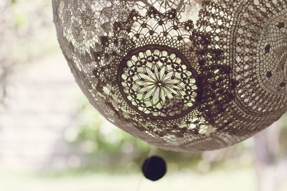 Lace balloon! I got the low down on how to make it from Beattie Lanser on the weekend.