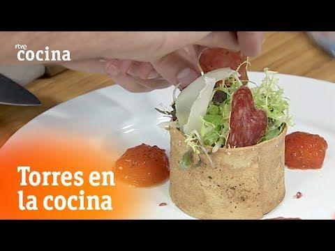 Tartar De Fuet Torres En La Cocina Rtve Cocina Youtube Torres En La Cocina Comida Etnica Recetas De Comida