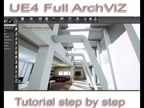 Ue4 Full Archviz Project Step By Step Tutorial Download Youtube
