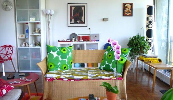Eklektische Inneneinrichtung-dekoration wohnung (6)