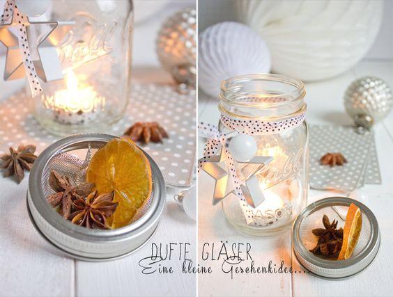 Türchen 19/DIY-Dufte Gläser^^ ...als Geschenkidee oder einfach für Dich selber!