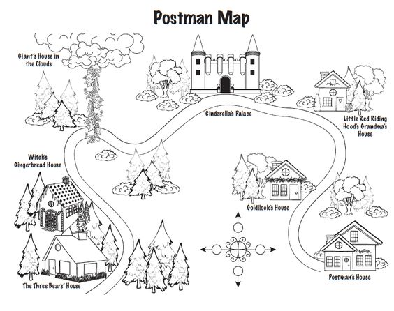Red riding hood and jolly postman to teach maps literacy unit 2 red riding hood and jolly postman to teach maps literacy unit 2 beginning middle end pinterest red riding hood hoods and cgi spiritdancerdesigns Images