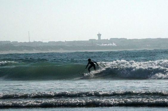 Wellenreiten in Peniche #surfen #surfing #peniche