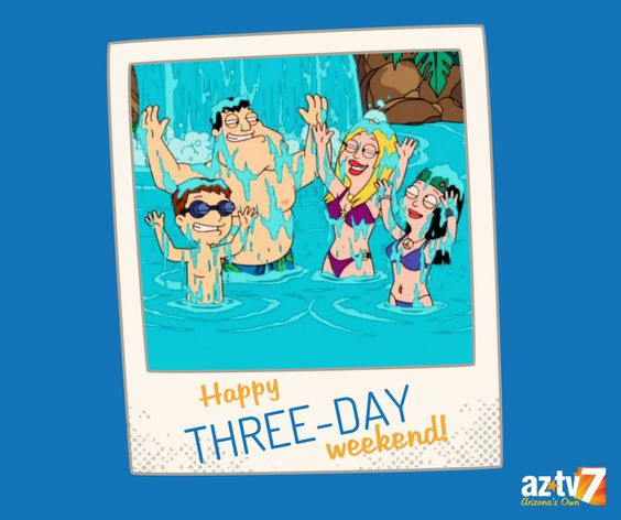 What does everyone have planned for the 3-day weekend? #LaborDayWeekend #AZTV