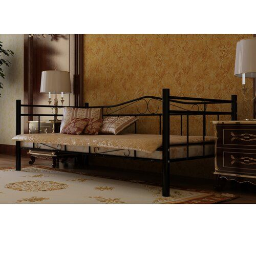 Aikens Daybed With Trundle Single Day Bed Bed Living Room Bedroom