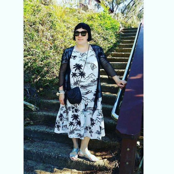Monochromatic morning walks at Snapper Rocks  Wearing an Aloha Republic muumuu mesh cardigan @bigwaustralia sandals @targetaustralia woven cross-body bag & @witcheryfashion sunglasses... #styleinspo #styleblogger #stylecloseup #fashionblogger #fashionista #frannygetsfrockedblog #dressaholic #thirtyplusstyle #instalike #instadaily #instamood #instafashion #instagood #instapics #picoftheday #bestoftheday #igers #ootd #mywardrobe #currentlywearing #whatiwore #everydaystyle #boho #bohosoul…
