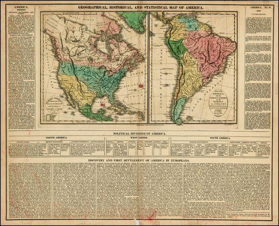 south america map 1820 - Google Search