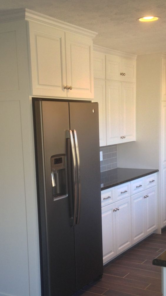 Benjamin Moore Simply White Cabinets Ge Counter Depth