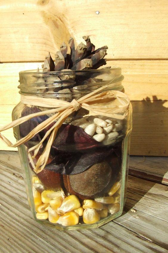 őszi játék termésekkel