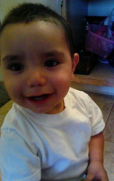 he's soo happy lol my littlest one Jr. a few months bacc
