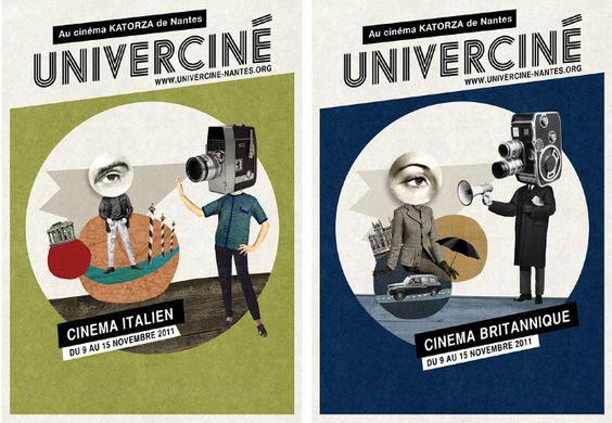 Univerciné - Mathilde Aubier illustrations & graphic design