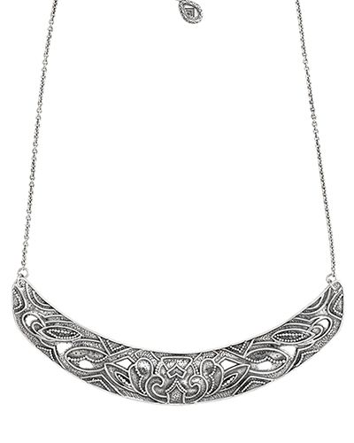 Ahead of the Curve Necklace, Necklaces - Silpada Designs.   .925 stelring silver  -- 16 to 18 inches.