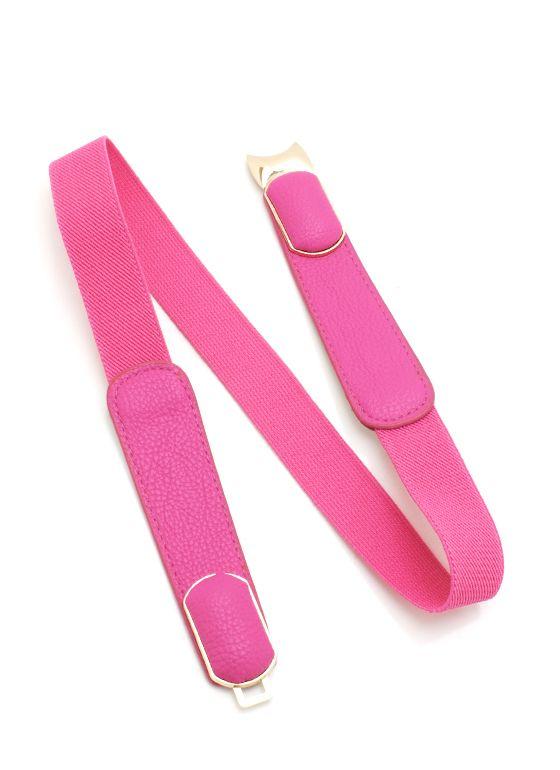 skinny buckle stretch belt $10.40  in mint pleease :)