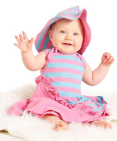 Look at this #zulilyfind! Rosebloom Lalia Dress & Pants - Infant & Toddler by Wonderland by Kidcuteture #zulilyfinds