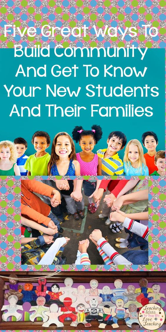 Five quick ways to begin building community in your class on the first day.