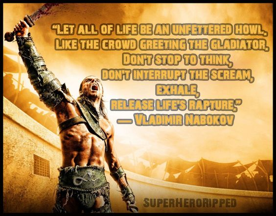 The Mighty Roar of Life - How to Get Superhero Ripped